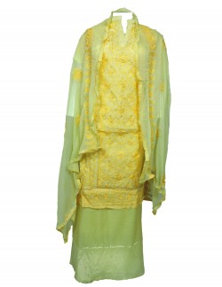 YELLOW COLOR LADIES SUIT