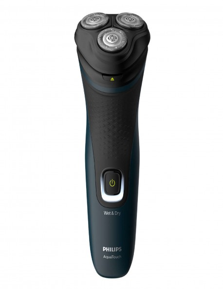 Philips S1070/04 Aqua Touch Electric Shaver (Blue and Black)