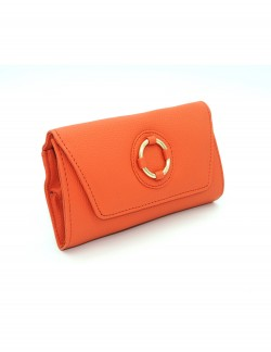 ORANGE WOMENS CLUTCH