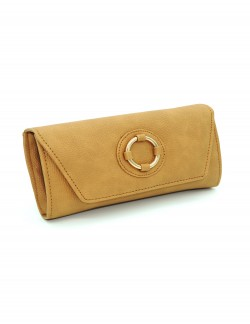 BROWN WOMENS CLUTCH