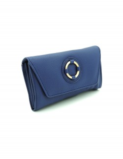 BLUE WOMENS CLUTCH