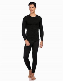 VP OSWAL MEN BLACK THERMAL