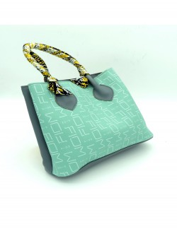 GREEN SHOULDER HANDBAG