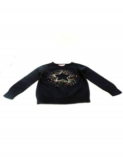 DARK BLUE KIDS SWEATER