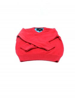 DARK RED KIDS SWEATER