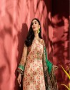 IMAN BROWN EMBROIDERED LAWN