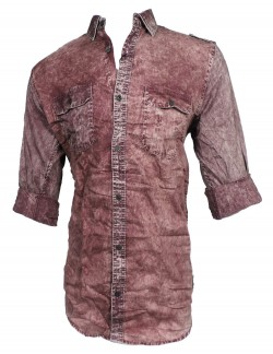 Fake studio Maroon Casual shirt