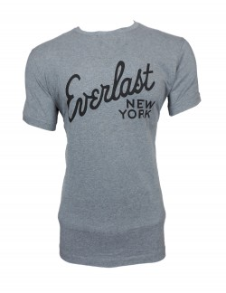 Zock light Grey Round Neck T shirt