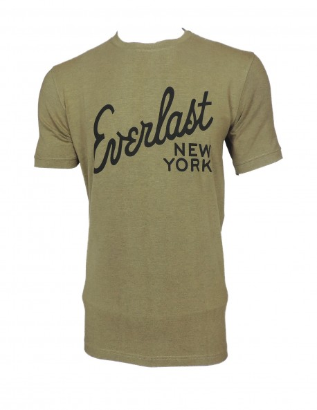G Club Light Brown Round Neck T shirt