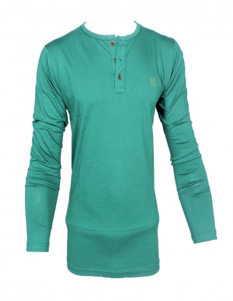 ZOCK GREEN ROUND NECK T SHIRT