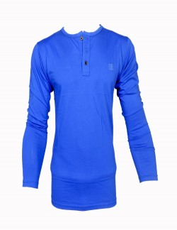 ZOCK BLUE ROUND NECK T SHIRT