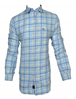 KEY PLUS LIGHT PURPLE CHECK SHIRT