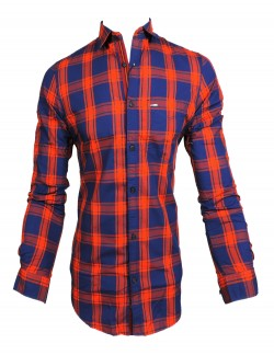 KEY PLUS RED CHECK SHIRT