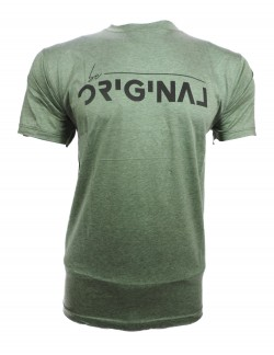 ZOCK LIGHT GREEN ROUND NECK T SHIRT