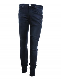 VOGUERAW LIGHT BLUE BLACK JEANS